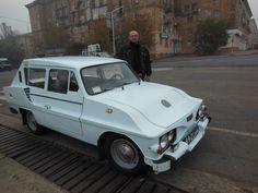 """""""Mustang"""" szovjet házi autó. Beépített 1980 egység ZAZ-968 """"Zaporozhets."""" A jelenleg használt rendeltetésének megfelelően."""