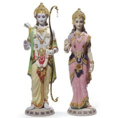 Lladro Rama & Sita. #Lladro #Statue #Sculpture #Decor #Gift #gosstudio .★ We recommend Gift Shop: http://www.zazzle.com/vintagestylestudio ★
