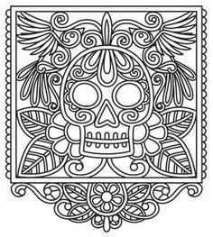 Papel Picado Skull_image