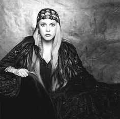 """""""So I'm back, to the velvet underground...  Back to the floor, that I love.  To a room with some lace and paper flowers...  Back to the gypsy that I was""""  -""""Gypsy"""" lyrics, by Stevie Nicks  #styleicon #modcloth"""