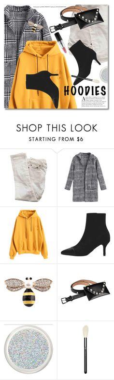 In My Hood: Cozy Hoodies by svijetlana on Polyvore featuring moda, Yves Saint Laurent, MAC Cosmetics, Hoodies and zaful