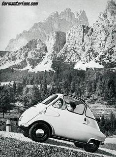 BMW Isetta bubble car
