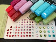 Use blendabilities on rhinestones and accessories!!! So cool!