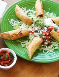 Chicken Taquitos. Think that taquitos might be one of the most fun words to say.