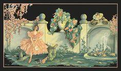 Art Deco A Love Letter from Pierrot | eBay