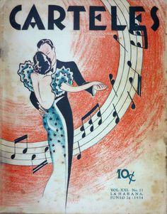 Carteles revista magazine habana Havana Cuba bailando pareja couple dancing elegant vintage Art Deco Posters, Vintage Posters, Illustrations, Illustration Art, Music Happy, Shall We Dance, Magazine Covers, Cover Art, Celebration