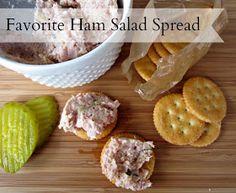Renee's Kitchen Adventures: Favorite Ham Salad Spread