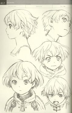 村田蓮爾 Range Murata ★ || CHARACTER DESIGN REFERENCES | キャラクターデザイン  • Find more…