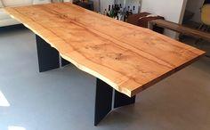 Custom Urban Hardwoods dining table Howell Furniture, Outdoor Furniture, Outdoor Decor, Hardwood, Dining Table, Urban, Home Decor, Natural Wood, Decoration Home