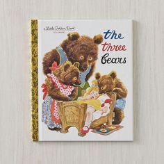 Shop The Tree Bears Book by Feodor Rojankovsky.  This classic Little Golden Book edition of the famous folk tale has had many imitators, but none can measure up to the way illustrator Feodor Rojankovsky brought Goldilocks and the three bears to life.