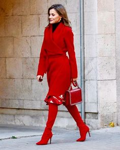 Queen Letizia of Spain attended a Working meeting of the Spanish Association Against Cancer