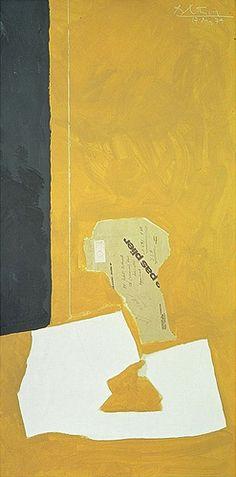 Robert Motherwell Collage (17. May 74), 1974. Hirshhorn                                                                                                                                                     More