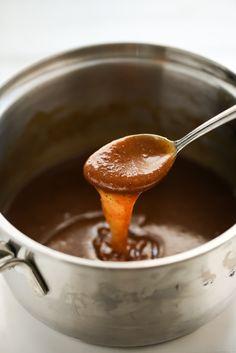 5-Minute Vegan Pumpkin Spice Caramel