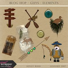 Farmhouse Notes: Digital Scrapbooking Free Download - January Blog Hop