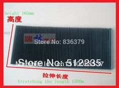 free shipping 165*1500mm Engraving machine dust cloth/dust cover cnc machine