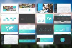 iDelapan PowerPoint Template by Angkalimabelas on Creative Market