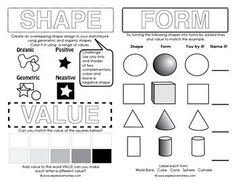 Printables Elements Of Art Worksheet elements of art worksheets design line worksheet for middle school google search