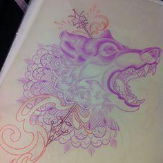 Tattoo Artwork by Kat Abdy