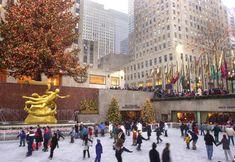 Skate at Rockefeller Center at Christmas