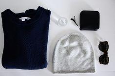 favorite three | 2015 by Mirjam from www.jeneregretterien.ch & Other Stories knit | COS speckled beanie | & Other Stories body spray | Celine Pretty sunnies | Acne Studios purse
