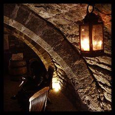La cave de dégustation du Château de Vault de Lugny
