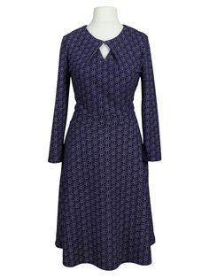 Damen Jerseykleid, blau von Egerie Paris bei www.meinkleidchen.de