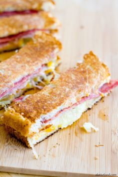 Hawaiian Grilled Cheese   Comfort to the max.