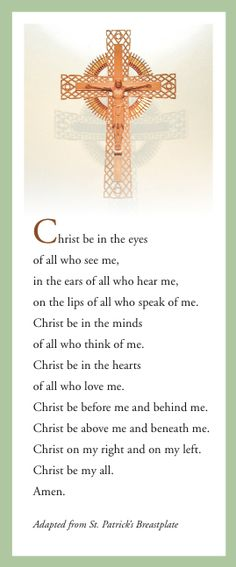 Our Lady of Good Council Parish Canton, MI - The kids and I learned this prayer a couple years back and say it everyday.