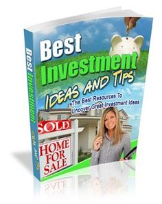 Best Investment Ideas And Tips Plr Ebook - Download at: http://www.exclusiveniches.com/best-investment-ideas-and-tips-plr-ebook.html