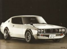 1973 Nissan Skyline GTR seriously the body parts ill chop to have one