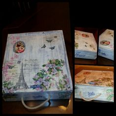 Decoupage, Office Supplies, The Creation