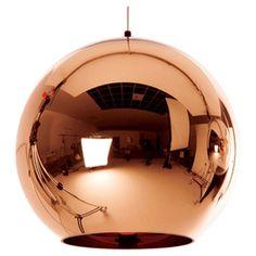 Tom Dixon Copper 1 Light Globe Pendant & Reviews | Wayfair.ca