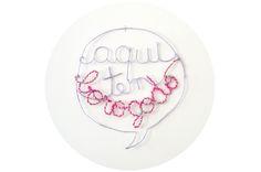 DIY Arte em arame, com muito borogodó! http://www.farmrio.com.br/adorofarm/faca-voce-mesma-arame-com-borogodo/