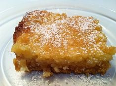 Paula Deen's Ooey Gooey Cake Recipe and Lemon Cake Bars Recipe (pictured)
