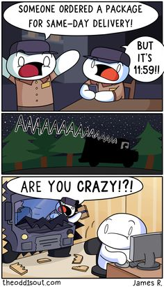 Theodd1sout :: Next Day Delivery | Tapastic Comics - image 1