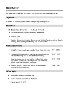 find this pin and more on free resume sample