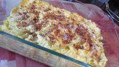 paleo cheezy cauliflower shirataki noodle bake recipe