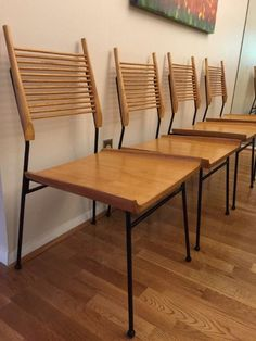 Side Chairs, Dining Chairs, Paul Mccobb, Mid Century Furniture, Desk Chair, Shovel, Im Not Perfect, Restoration