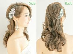 Want to know more about wedding preparation beauty photo ideas Check the webpage to get more information. Bride Hairstyles, Down Hairstyles, Bridal Looks, Bridal Make Up, Hair Arrange, Hair Reference, Wedding Hair Down, Wedding Preparation, Beauty Photos