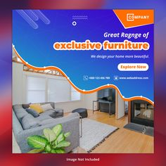 Explore E_vector best graphic resources Ads Banner, Banners, Social Media Banner, Social Media Design, Banner Design, Layout Design, Web Business, Vector Photo, Design Your Home