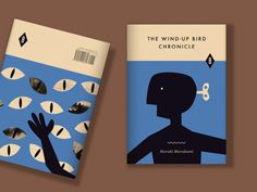 The Wind-Up Bird Chronicle by anna kövecses, via Behance