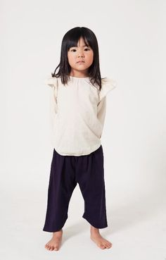 Go Gently Baby Harem Pants // at Darling Clementine