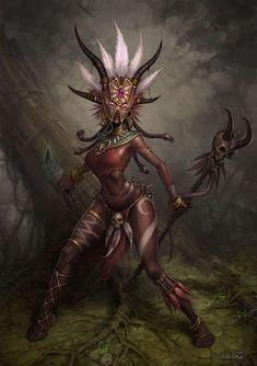 Female Witch Doctor - GUYS WHY DON'T YOU TRY LIKING A DIFFERENT PICTURE LMAO.