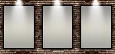 Picture frame on the wall image Red Carpet Background, Brick Wall Background, Frame Background, Background Vintage, Lights Background, Background Templates, Background Patterns, Textured Background, Background Images