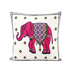 Pink Elephant Cotton Throw Pillow Case Cushion Cover Sofa Home Bed Decor by Generic >>> To view further for this item, visit the image link. Note: It's an affiliate link to Amazon