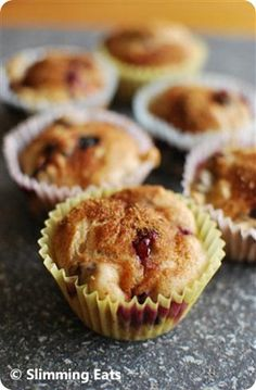Low Fat Blueberry Muffins  #muffin #cupcake #blueberry #cake #lowfat #healthyeating #baking