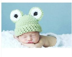 Amazon.com: 7# Cute Crochet Knitted Baby Hat Girl Diaper Photography Prop Hat Costume Dress: Baby