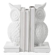 Owl Bookends - Set of 2 | Decorative Accessories | Accessories | Decor | Z Gallerie - $29.95