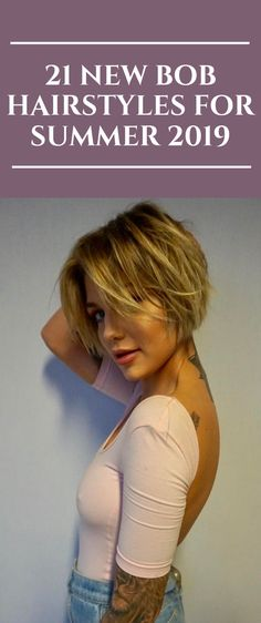 21 new Bob hairstyles for the summer of 2019 # hairstyles - Top Trends Short Bobs Haircuts Look Sexy and Charming! Best Bob Haircuts, Bob Haircuts For Women, Short Hairstyles For Women, Summer Hairstyles, Zendaya Hairstyles, Summer Haircuts, Fashion Hairstyles, Natural Hairstyles, Medium Hair Cuts