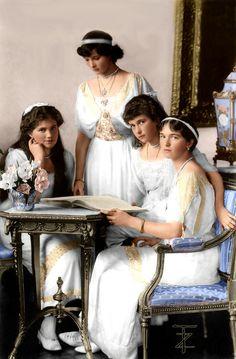 The Romanov Grand Duchesses
